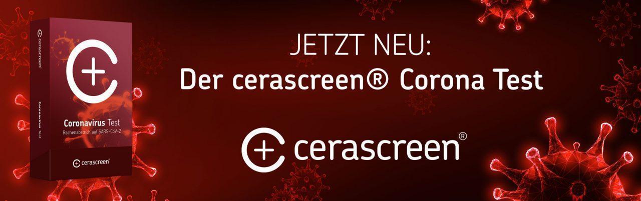 Cerascreen Corona Testkit für zuhause